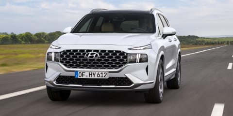2021 Hyundai Santa Fe Hybrid coming in second-half of next year