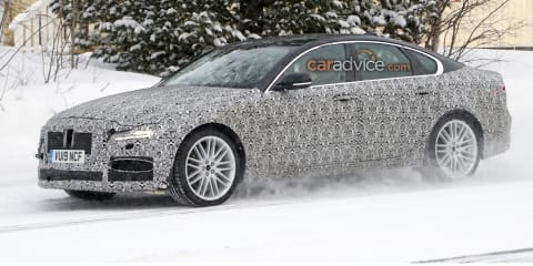 2021 Jaguar XF spied