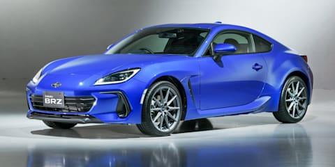 2022 Subaru BRZ: Right-hand-drive model unveiled with STI accessory range