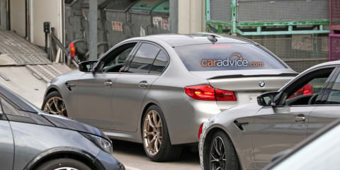 2020 BMW M5 CS spied
