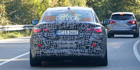 2021 BMW i4 spied again