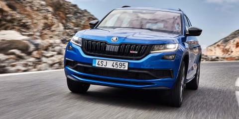 2020 Skoda Kodiaq RS review