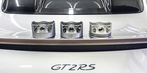 Porsche 3D-prints lightweight pistons for 911 GT2 RS