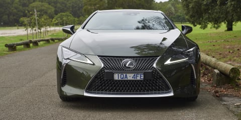 2020 Lexus LC500 review: Inspiration Series