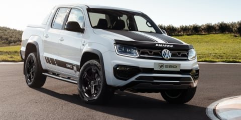 2021 Volkswagen Amarok W580 revealed
