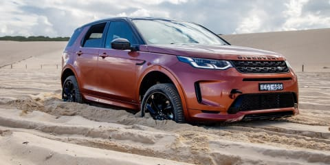 2020 Land Rover Discovery Sport long-term review: Beach driving