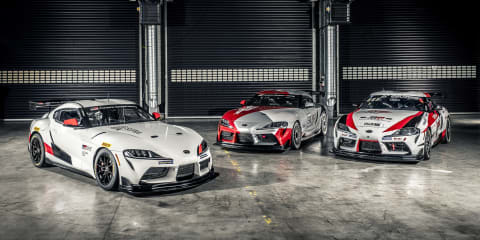Toyota Supra GT4 revealed