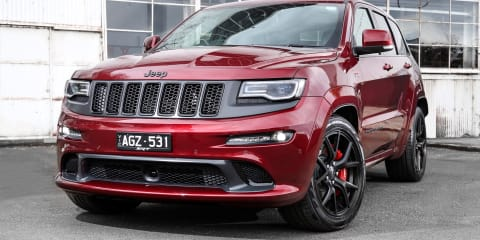 2016 Jeep Grand Cherokee SRT Night at the dragway