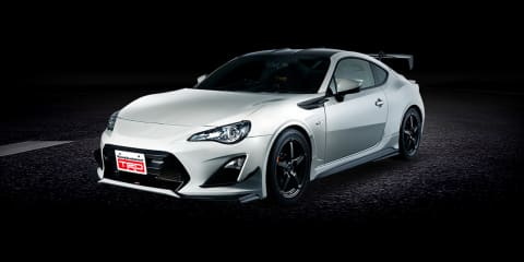 Toyota 86 14R-60 limited edition makes full use of TRD's parts catalogue