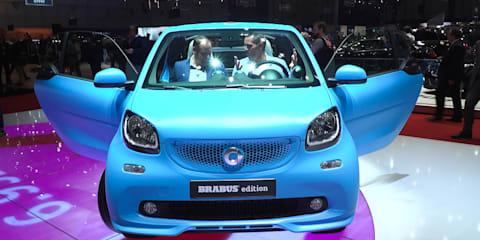 Brabus Smart Fortwo : 2016 Geneva Motor Show