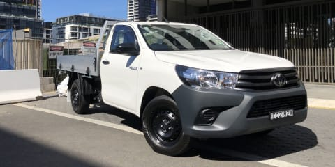 2020 Toyota HiLux review: Workmate 4x2 petrol manual