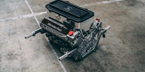 McLaren-Mercedes Formula One engine goes to auction