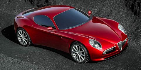 Design: Alfa Romeo 8C Competizione (2003)