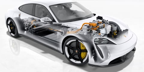 Porsche Taycan: 270kW charging, first production car to use 800V architecture and intelligent battery