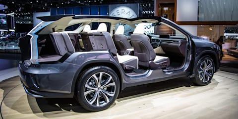 2018 Lexus RXL revealed in LA