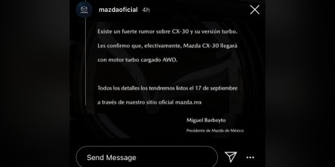2021 Mazda CX-30 Turbo to be revealed September 17 - UPDATE