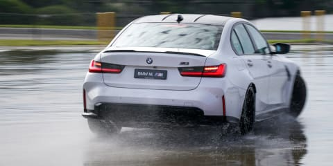 2021 BMW M3 Competition track review