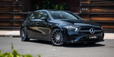 2020 Mercedes-AMG A35 hatchback review