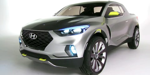 Hyundai Santa Cruz Design Interview : NAIAS Detroit Motor Show 2015