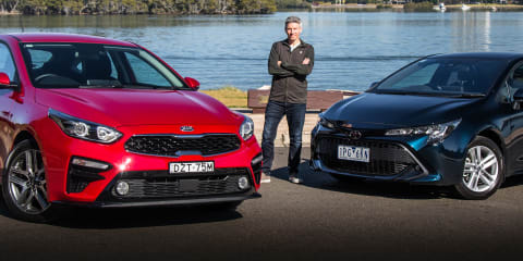 2019 Kia Cerato v Toyota Corolla comparison | Best small car?