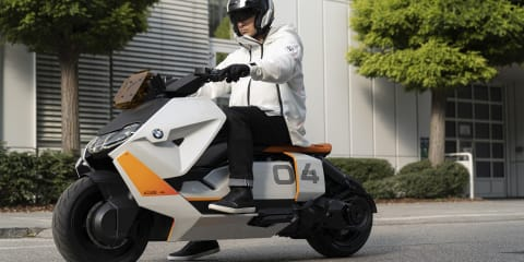 BMW Motorrad launches radical Concept Definition CE 04 electric scooter