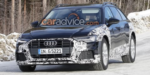 2020 Audi A6 Allroad spied
