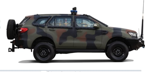 Armoured Ford Ranger and Everest: From workhorse to warhorse