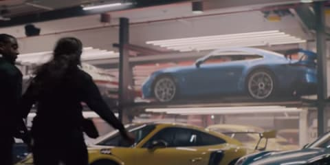 2021 Porsche 911 GT3 surfaces in Super Bowl ad