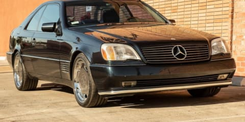 Michael Jordan's 1996 Mercedes-Benz S600 Coupe listed for sale... again