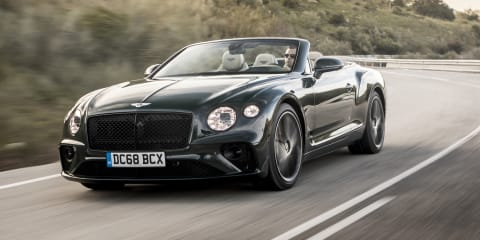 2019 Bentley Continental GT Convertible review