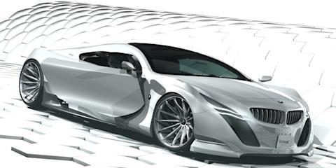 BMW Z5 concept design study