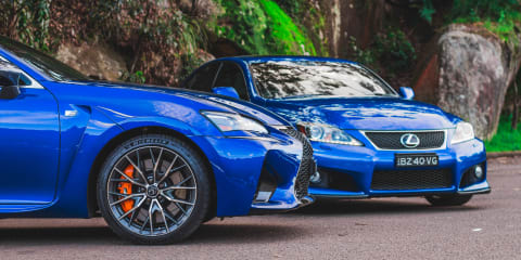 Old v new: 2020 Lexus GS F v 2011 Lexus IS F