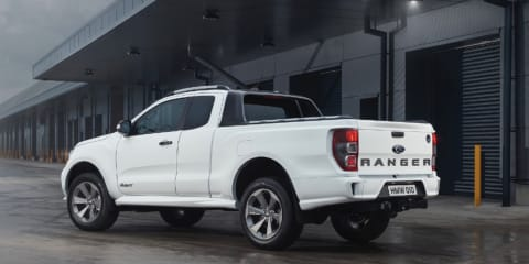 Ford Ranger gets some street cred: UK builds limited-edition road-focused model