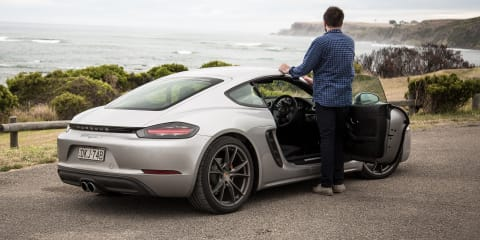 2017 Porsche 718 Cayman S review