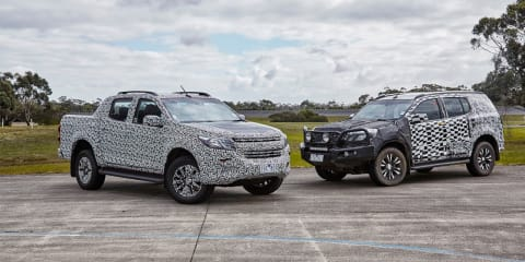2017 Holden Colorado and Trailblazer engineering development drive