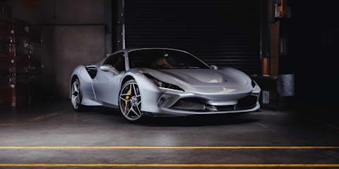 Ferrari F8 Spider surfs into Australia, priced from $536,888