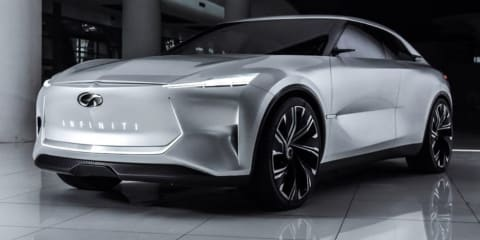 Infiniti Qs Inspiration concept leaked