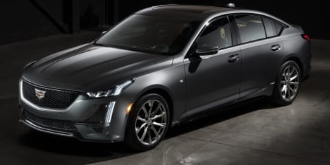 2019 Cadillac CT5 detailed