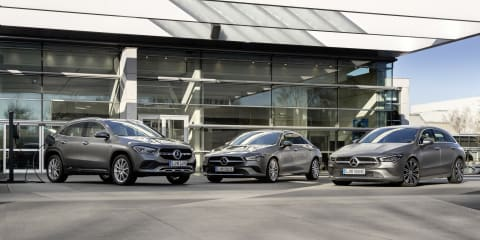 Mercedes-Benz reveals PHEV versions of CLA and GLA
