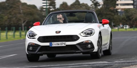 Abarth 124 Spider dead in Australia, all stock sold out