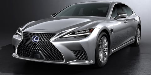 2021 Lexus LS facelift revealed, Australian timing confirmed – UPDATE