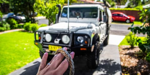 How to: Clean your 4X4 winch cable