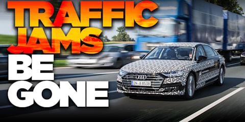 2018 Audi A8: Level 3 autonomous driving test