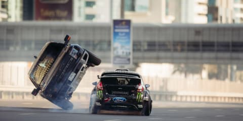 Ken Block: 70km/h over the Sydney Harbour Bridge killed Gymkhana 9 in Australia