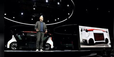 General Motors unveils autonomous car without steering wheel or pedals