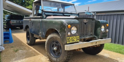 Project Cars:  1971 Land Rover Series IIA update – The road to (conditional) registration