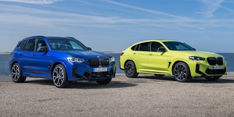 2022 BMW X3 M and X4 M Competition price and specs