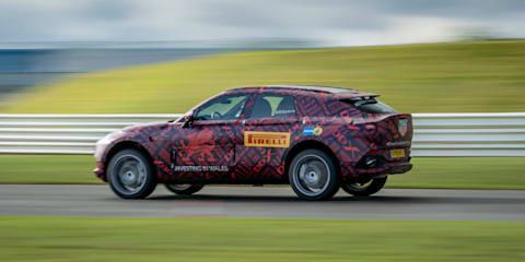 Aston Martin DBX to get 405kW V8