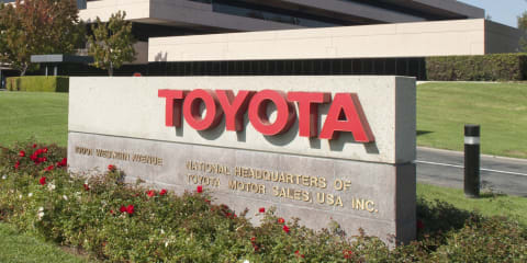 Toyota slips, but remains most valuable automotive brand
