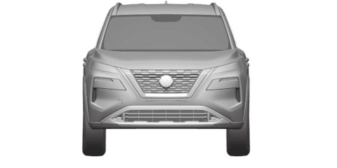 2021 Nissan X-Trail revealed in patent images